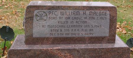 MALONE, WILLIAM H. - Sac County, Iowa | WILLIAM H. MALONE