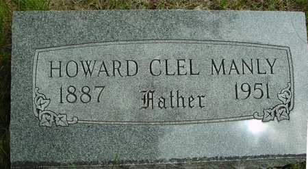 MANLY, HOWARD CLEL - Sac County, Iowa | HOWARD CLEL MANLY