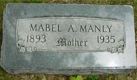 MANLY, MABEL A. - Sac County, Iowa | MABEL A. MANLY