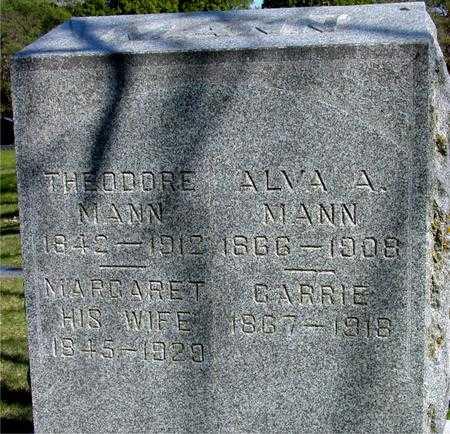 MANN, THEO. & MARGARET - Sac County, Iowa | THEO. & MARGARET MANN