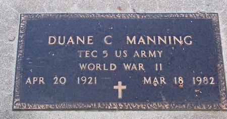 MANNING, DUANE C. - Sac County, Iowa | DUANE C. MANNING