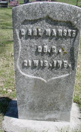 MANSKA, CARL - Sac County, Iowa | CARL MANSKA