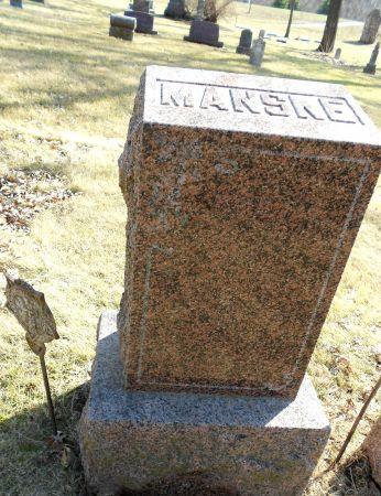 MANSKE, FAMILY MEMORIAL - Sac County, Iowa | FAMILY MEMORIAL MANSKE