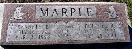 MARPLE, KENNETH & DOLORES - Sac County, Iowa | KENNETH & DOLORES MARPLE