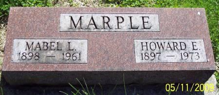 MARPLE, HOWARD E - Sac County, Iowa | HOWARD E MARPLE