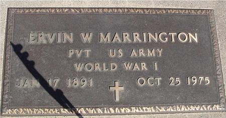 MARRINGTON, ERVIN W. - Sac County, Iowa | ERVIN W. MARRINGTON