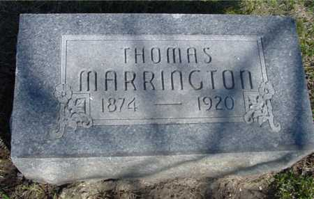 MARRINGTON, THOMAS - Sac County, Iowa | THOMAS MARRINGTON