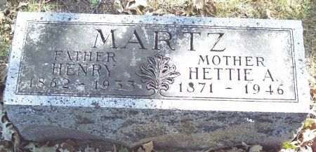 MARTZ, HETTIE ALICE - Sac County, Iowa | HETTIE ALICE MARTZ