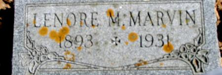 MARVIN, LENORE M. - Sac County, Iowa   LENORE M. MARVIN