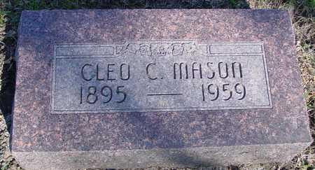 MASON, CLEO C. - Sac County, Iowa | CLEO C. MASON
