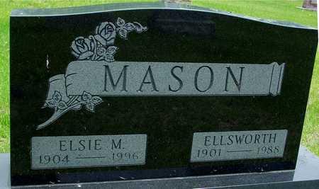 MASON, ELLSWORTH & ELSIE M. - Sac County, Iowa   ELLSWORTH & ELSIE M. MASON
