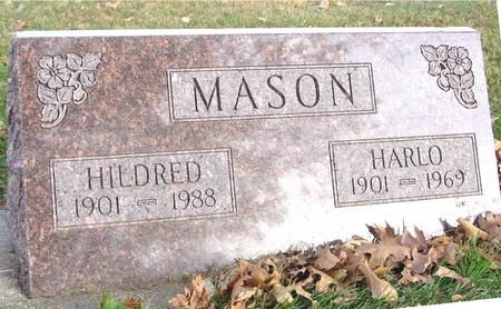 MASON, HARLO & HILDRED - Sac County, Iowa | HARLO & HILDRED MASON