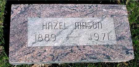 MASON, HAZEL - Sac County, Iowa | HAZEL MASON