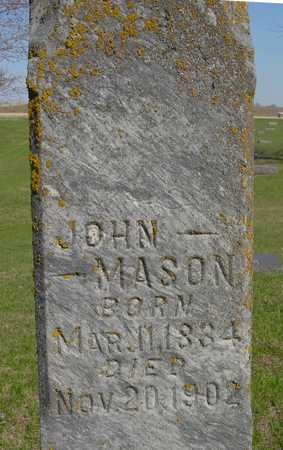 MASON, JOHN - Sac County, Iowa | JOHN MASON