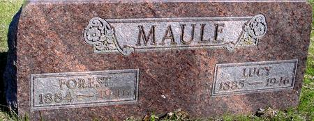 MAULE, FOREST & LUCY - Sac County, Iowa | FOREST & LUCY MAULE