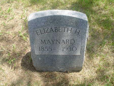 MAYNARD, ELIZABETH - Sac County, Iowa | ELIZABETH MAYNARD
