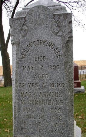 ARMOUR MC CORKINDALE, MARY - Sac County, Iowa | MARY ARMOUR MC CORKINDALE