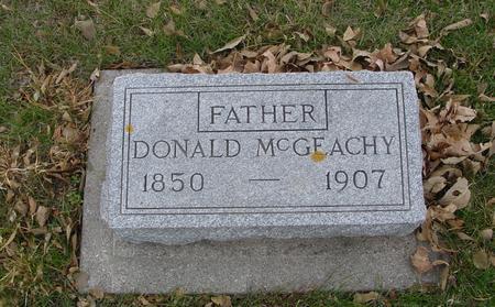 MC GEACHY, DONALD - Sac County, Iowa | DONALD MC GEACHY