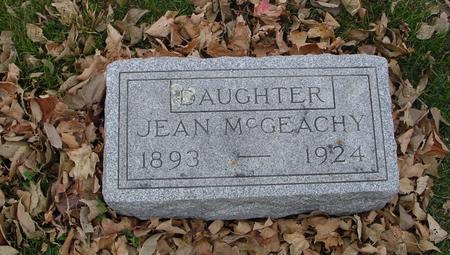 MC GEACHY, JEAN - Sac County, Iowa | JEAN MC GEACHY