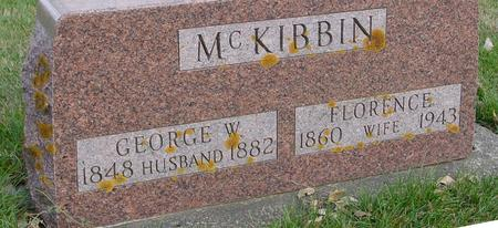 MC KIBBIN, GEORGE & FLORENCE - Sac County, Iowa | GEORGE & FLORENCE MC KIBBIN