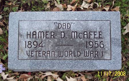 MCAFEE, HAMER D - Sac County, Iowa | HAMER D MCAFEE