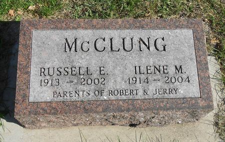 MCCLUNG, RUSSELL ELDRED - Sac County, Iowa | RUSSELL ELDRED MCCLUNG