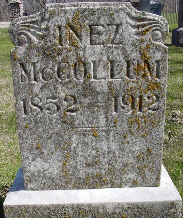 MCCOLLUM, INEZ - Sac County, Iowa | INEZ MCCOLLUM
