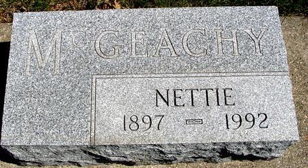 MCGEACHY, NETTIE - Sac County, Iowa | NETTIE MCGEACHY