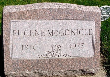 MCGONIGLE, EUGENE - Sac County, Iowa   EUGENE MCGONIGLE