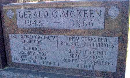 MCKEEN, GERALD C. - Sac County, Iowa | GERALD C. MCKEEN