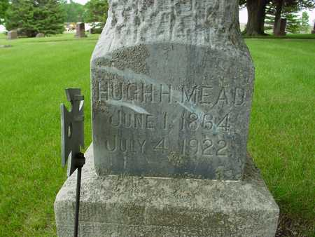 MEAD, HUGH H. - Sac County, Iowa   HUGH H. MEAD