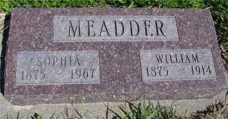 MEADDER, WILLIAM - Sac County, Iowa | WILLIAM MEADDER