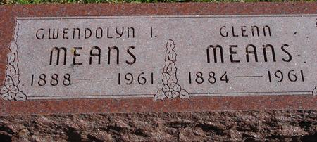 MEANS, GLENN & GWENDOLYN - Sac County, Iowa | GLENN & GWENDOLYN MEANS