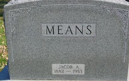 MEANS, JACOB - Sac County, Iowa | JACOB MEANS