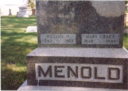 MENOLD, WILLIAM & MARY - Sac County, Iowa | WILLIAM & MARY MENOLD