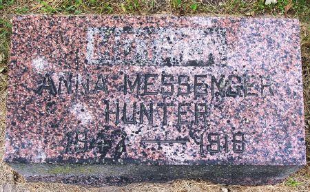 O'HERAN MESSENGER HUNTER, ANNA - Sac County, Iowa | ANNA O'HERAN MESSENGER HUNTER