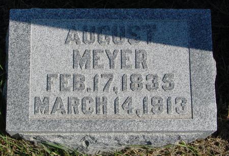 MEYER, AUGUST - Sac County, Iowa | AUGUST MEYER