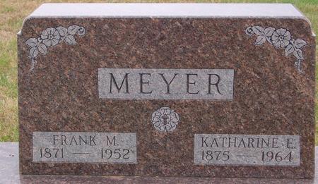 MEYER, FRANK & KATHARINE - Sac County, Iowa | FRANK & KATHARINE MEYER