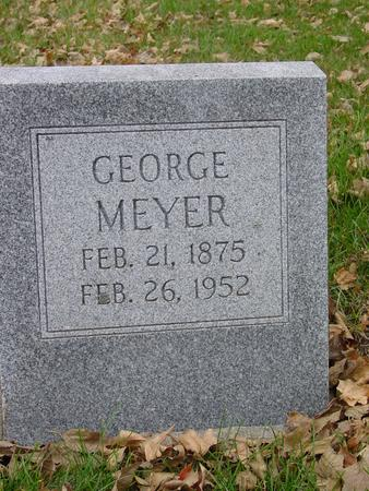 MEYER, GEORGE - Sac County, Iowa | GEORGE MEYER
