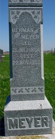 MEYER, HERMAN - Sac County, Iowa   HERMAN MEYER