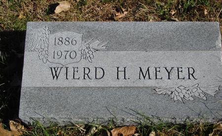 MEYER, WIERD H. - Sac County, Iowa | WIERD H. MEYER