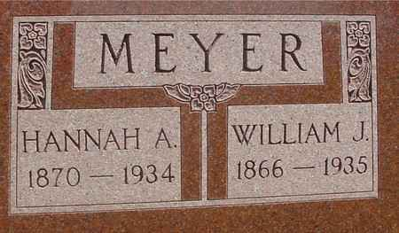 MEYER, WILLIAM J. & HANNAH - Sac County, Iowa | WILLIAM J. & HANNAH MEYER