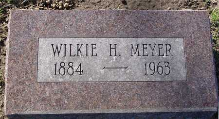 MEYER, WILKIE H. - Sac County, Iowa | WILKIE H. MEYER