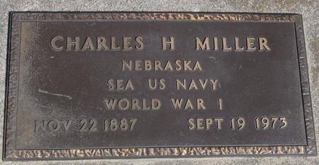 MILLER, CHARLES H. - Sac County, Iowa   CHARLES H. MILLER