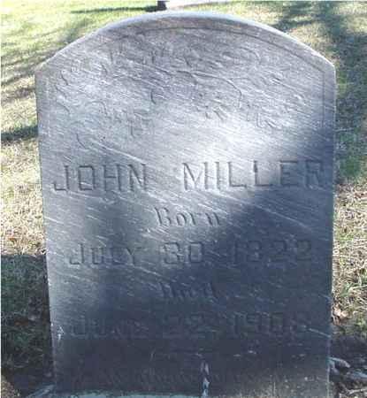 MILLER, JOHN - Sac County, Iowa | JOHN MILLER