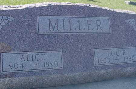 MILLER, LOUIE & ALICE - Sac County, Iowa   LOUIE & ALICE MILLER