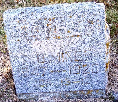 MINER, ALBERT DARIUS - Sac County, Iowa | ALBERT DARIUS MINER