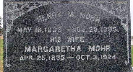 MOHR, HENRY & MARGARETHA - Sac County, Iowa | HENRY & MARGARETHA MOHR