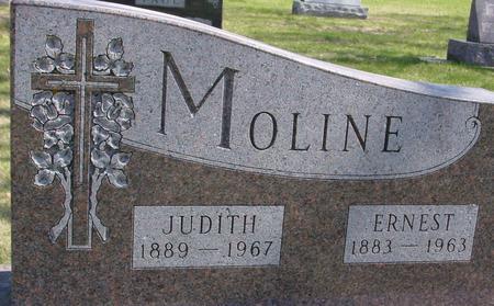 MOLINE, ERNEST & JUDITH - Sac County, Iowa   ERNEST & JUDITH MOLINE