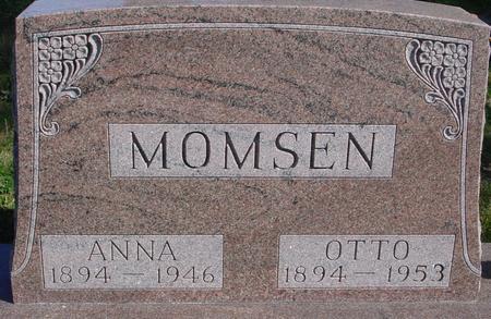 MOMSEN, OTTO & ANNA - Sac County, Iowa | OTTO & ANNA MOMSEN